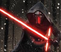 Star Wars The Force Awakens Kylo Ren Выдвижная Lightsaber свет водить мечи LED Освещенные игрушки Игрушка LLFA Ролевая игра