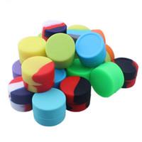 Conian de silicone pour pots de cire dab pour vaporisateur à cire jarres en silicone dab Ego Silicone No Stick Jar