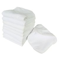 Free shipping 12pcs  lot Washbale and Reusable High absorpti...