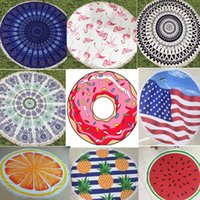 27 Colors Microfiber Round Beach Towel 150cm Bath Towels Tas...
