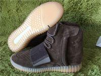 1: 1 Quality Kanye Boost 750 Chocolate Brown Womens High Top ...