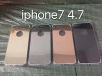 Free Shipping Luxury Acrylic Mirror TPU Bumper Case For iPho...