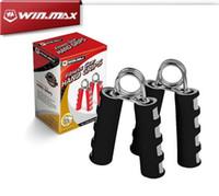Fitness Equipments Hand- muscle Building Steel EVA Hand Grips...