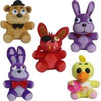Five Nights at Freddy' s Plush Toys Bonnie Foxy Freddy C...