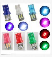 100PCS T10 7014 10SMD W5W Wedge 921 194 Side light LED Wedge...