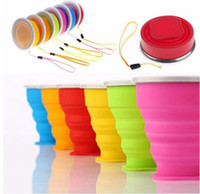 Silicone Folding Cup New Vogue Outdoor Travel Cups Retractab...