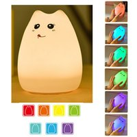 Silicone Animals LED 7- Color Breathing Light Children' s...
