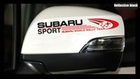 Suport Subaru Rearview mirror 16cm Reflective Sticker Car St...