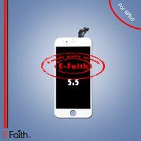 Affichage en gros de A +++ d'affichage à cristaux liquides pour l'iphone 6 plus le remplacement d'écran de 5.5 pouces avec le numériseur de contact