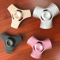 New EDC Tri- Spinner Fidget Toys decompression Hand Spinner A...