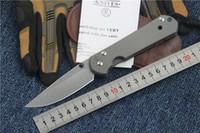 TOP quality CHRIS REEVE sebenza 21 folding knife pocket tita...