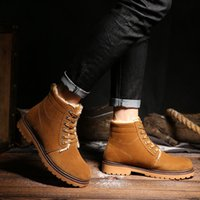 New Arrival Men' s Fashion Martin Shoes Winter Ankle Boo...
