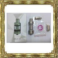 Qualité Eleaf Melo 3 Atomiseur 2ml et Mini Melo 3 Réservoir 4ml Fit iStick Pico Mod Melo3 Melo3 Mini Atomiseur DHL free