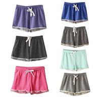 7 Colors Hot Sale European Style Women Shorts Causal Home Sh...