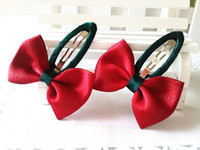 New Sold By Pairs Girls Hair Accessories Candy Color Dot Bow...