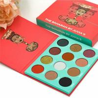 Nouveau Le SAHARAN BY JUVIA's Nubian Edition Ombre à paupières palette de surligneur 12 couleurs Maquillage Ombre à paupières de alina