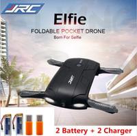 2017 Original JJRC H37 Elfie Foldable Mini Rc Selfie Drone avec caméra HD Wifi Fpv Drone Helicopter VS H31 H36 H8 X5C X5SW-1