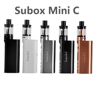 Authentique Kanger Subox Mini Kit C kangertech 50W KBOX Avec 3ml Top Refilling Protank 5 Atomiseur Starter vs topbox mini kit de démarrage