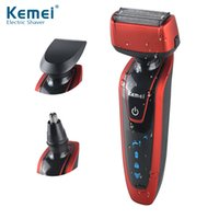Kemei5889 Reciprocating 3 in 1 Razor Rechargeable Electric S...