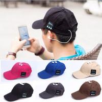 2017 New Wireless Unisex Sport Bluetooth Music Hat Cap Headp...