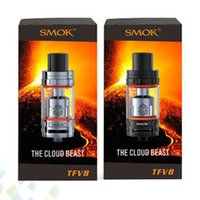 Authentic SMOK TFV8 Cloud Beast Tank 6ml with V8 T8 Octuple ...