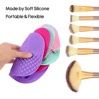 2017 Makeup Brush Cleaning Mat Washing Tools Hand Tool Pad S...