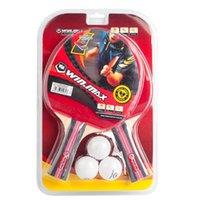 Winmax 3 Stars Table Tennis Set 2 Long Short Handle Racket +...