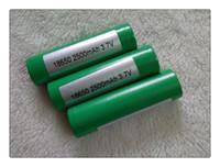 DHL FED ups Batterie lithium de haute qualité INR18650 Batterie 25R vert, batterie li-ion pour toutes sortes de e cigs Meilleure qualité