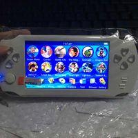 Consoles de jeu 5 pouces 9999 types jeu d'arcade 8 Go MP3 MP4 MP5 Video FM Jeu Portable Portable