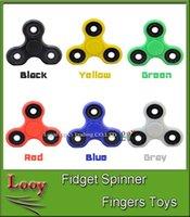 EDC Fidget Spinner jouet jouet spinner toy Tri spinner HandSpinner EDC Toy pour décompression Anxiété Jouets avec boîte DHL gratuite