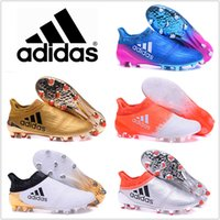 2017 Adidas Shoes X 16+ Purechaos FG AG Mens football boots ...