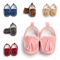Baby Moccasins Soft Sole Shoe PU Leather First Walker Shoes ...