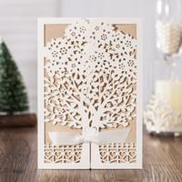 wholesale laser cut tree wedding invitations - buy cheap laser cut, Wedding invitations