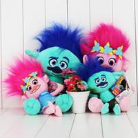 23- 40cm Movie Trolls Poppy branch Plush Toy Soft Plush Stuff...