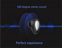 Mini TWS Twins True Bluetooth sans fil 4,1 écouteurs stéréo casque intra-auriculaires écouteurs pour iphone 7 7plus