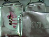 10шт Дженнер Макияж сумка День рождения Коллекция косметичку Кайли Lip Kit сумка высокого качества Бесплатная доставка