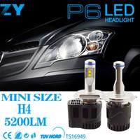 Automobile parts HB4 led headlight P6 led canbus car bulb 55...