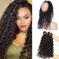 9A 360 Lace Frontal Closure With Bundles 4Pcs Lot Malaysian ...