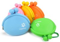 Outdoor Silicone Dog Snack Bag Pet Training Package Dry Food...