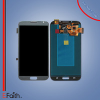 Pour gris Samsung Galaxy Note 2 N7100 Touch écran LCD digitizer pièces de réparation Livraison gratuite DHL