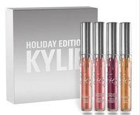 Новые блеск для губ Кайли Холидей Kit 4шт издание Матовый Дженнер Liquid LipGloss Mini Kit Collection 6шт Набор для Рождества
