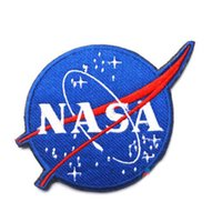 NASA Blue Iron Patches 3D Handmade Eco- Friendly Embroidered ...