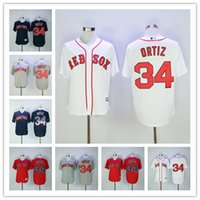 David Ortiz Jersey Boston Red Sox Baseball Jersey Flexbase C...