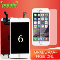 Livraison gratuite DHL Grade AAA LCD écrans avec remplacement de réparation cadre pour iPhone 6 écran LCD écran tactile d'assemblage