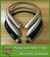 HBS1100 HX1100 Tone Platunum HBS-1100 sans fil collier casque de soutien NFC Bluetooth 4.1 HIFI sports casque HBS 1100