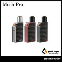Authentique Geekvape Mech Pro Kit avec Medusa RDTA Réservoir Visible Circuit System Plaques interchangeables 100% Original