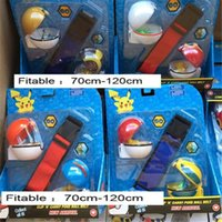 Adjustable clip n Carry poke ball belt set poke pikachu figu...