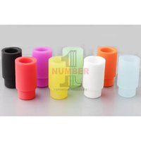 510 Silicone Drip Tip Colorful Disposable Rubber Mouthpiece ...