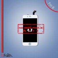 White iPhone 6 Grade A +++ Affichage LCD avec numériseur à écran tactile complet Livraison gratuite par DHL