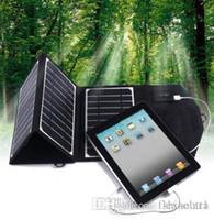 16W портативные солнечные панели зарядное устройство IPOWER технологии, двойной выход 5V Solar Power Bank зарядное устройство для кемпинга